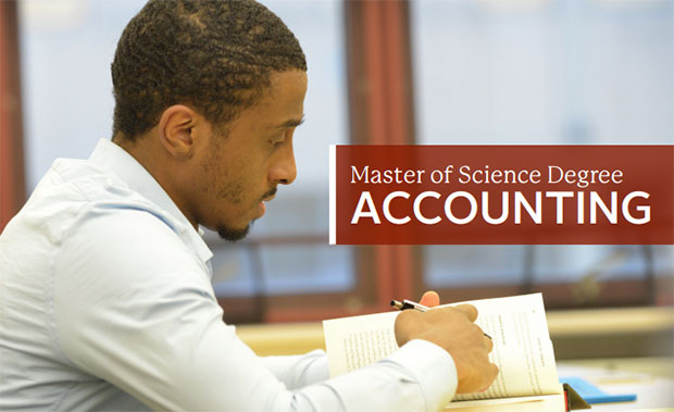 Masters of Accounting Image