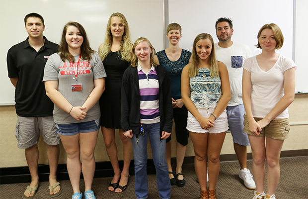 31 2015 La Roche College Recently Welcomed The First Group Of Scholarship Recipients To Its National Science Foundation NSF CheM Scholar Program